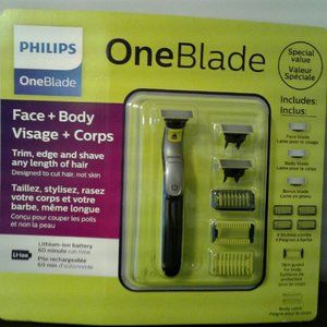 PHILLIPS ONEBLADE FACE & BODY (NEW & SEALED)